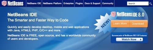 Útiles programas para Windows para desarrolladores web: NetBeans