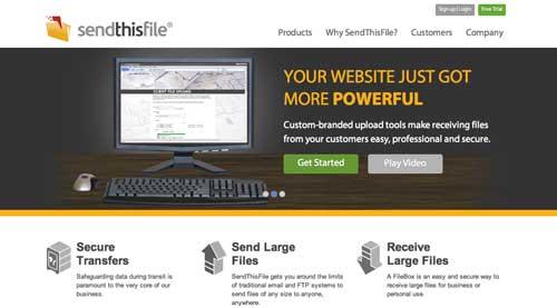 Servicio para enviar archivos pesados: Sendthisfile