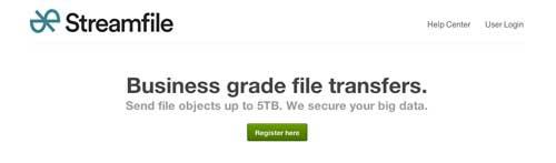 Servicio para enviar archivos pesados: StreamFile