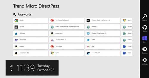 Aplicaciones para Windows 8.1 para proteger tus datos online: DirectPass