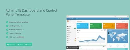 Bootstrap theme: Crear paneles de administracion