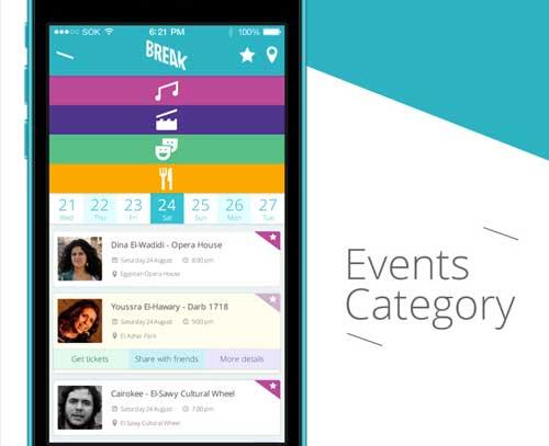 Crear app: Selección de colores de Break