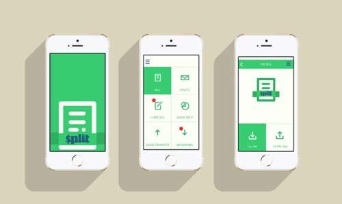 Crear app: Selección de colores de Split the Bill