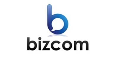 Ejemplos de diseño de logos para chat: Bizcom