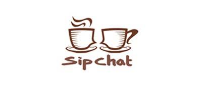 Ejemplos de diseño de logos para chat: SipChat