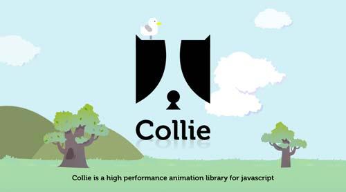Librerías de Javascript plugin para añadir animaciones: Collie