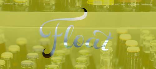Las mejores paginas web con uso de color verde: Float Pasadena