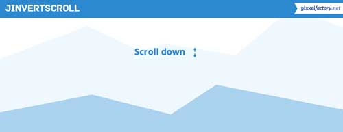 Plugin JQuery para añadir efecto parallax: JInvertScroll