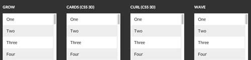 Plugin JQuery para añadir efectos CSS3: Stroll.js