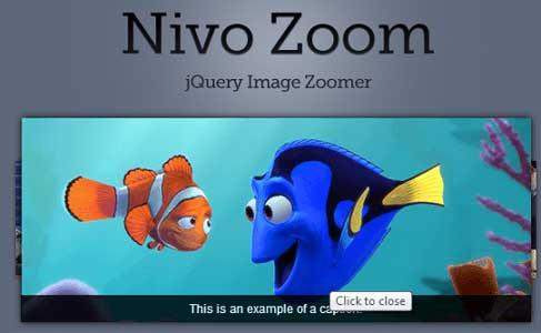 Plugin JQuery para añadir zoom: Nivo Zoom