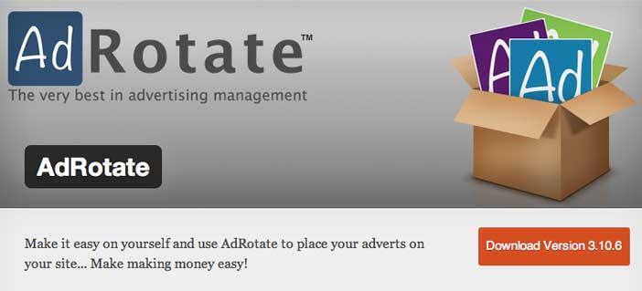 Plugin WordPress para administrar anuncios publicitarios: AdRotate