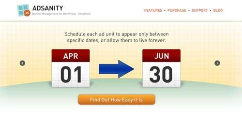 Plugin WordPress para administrar anuncios publicitarios: AdSanity