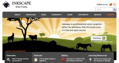SVG Editor para crear gráficos vectoriales: Inkscape
