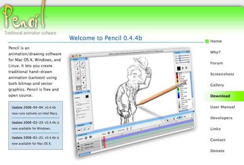 SVG Editor para crear gráficos vectoriales: Pencil Animation