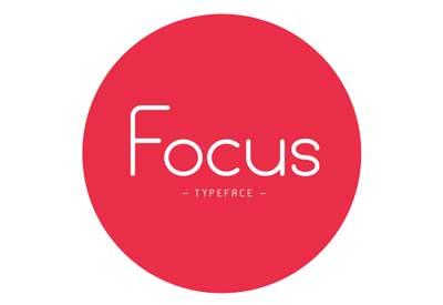Tipografias gratis para tu diseño minimalista: Focus