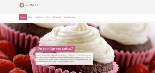 Woocommerce themes para tienda online: Justshop