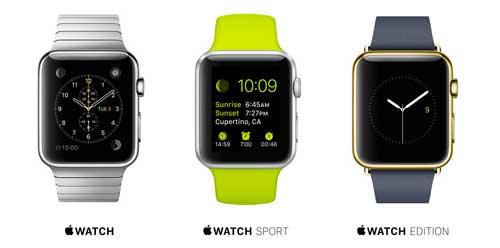 Apple Watch, el nuevo reloj de Apple: Colecciones