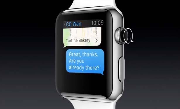 Apple Watch, el nuevo reloj de Apple: Corona como elemento de mando