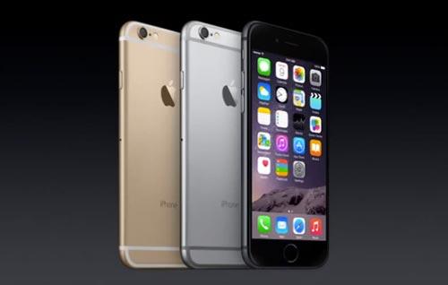 Características del nuevo iPhone 6 e iPhone 6 Plus: Colores