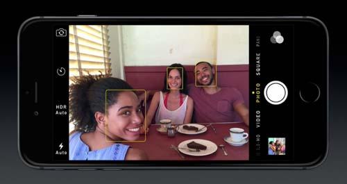 Características del nuevo iPhone 6 e iPhone 6 Plus: Detección de rostro