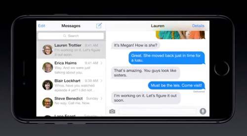 Características del nuevo iPhone 6 e iPhone 6 Plus: Panel Adicional