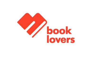 Ejemplos de diseño de logos sencillos: Book Lovers