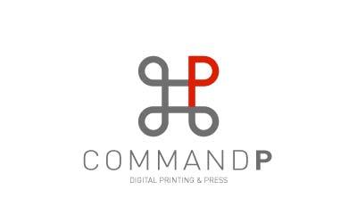 Ejemplos de diseño de logos sencillos: Command P