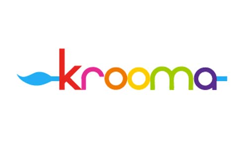 Ejemplos de diseño de logos coloridos: Krooma