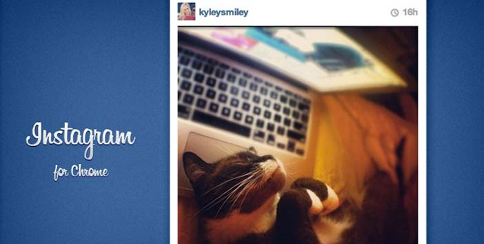 Extensiones Google Chrome para gestión de redes sociales: Instagram for Chrome