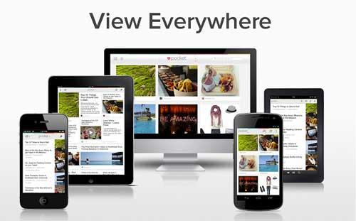 Extensiones Google Chrome para gestión de redes sociales: Pocket