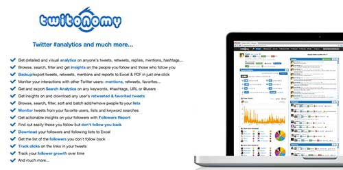Herramientas de analitica web para Twitter: Twitonomy