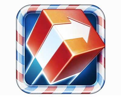 Ejemplos de iconos realistas de iOS app: Ship Off