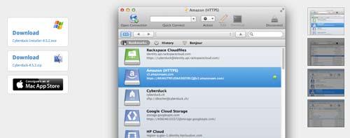 Lista de los mejores cliente FTP: Cyberduck