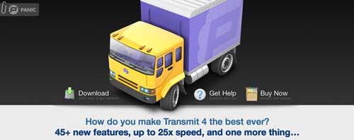 Lista de los mejores cliente FTP: Transmit