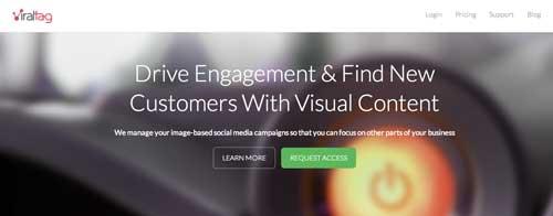 Herramientas de Pinterest Marketing: Viral Tag