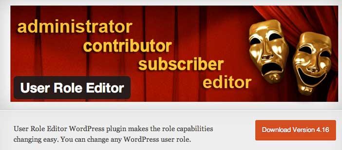 Plugin WordPress User Role Editor