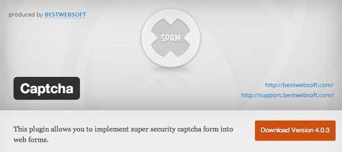 5 plugin WordPress para añadir verificación: Captcha