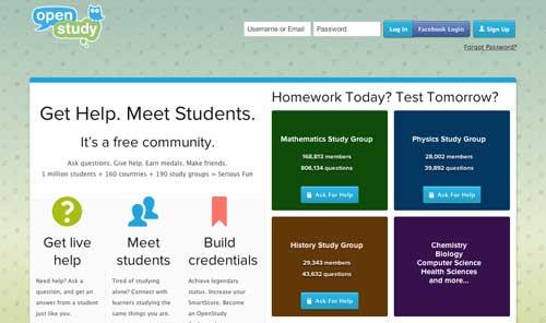 Recursos educativos para crear grupos de estudio: Open Study