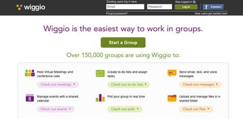 Recursos educativos para crear grupos de estudio: Wiggio