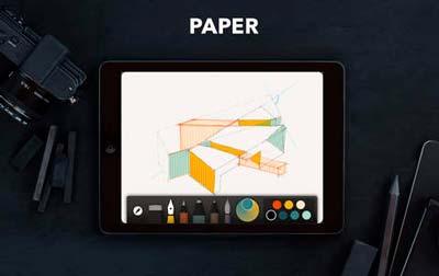Aplicaciones para iPad para ilustración digital: Paper