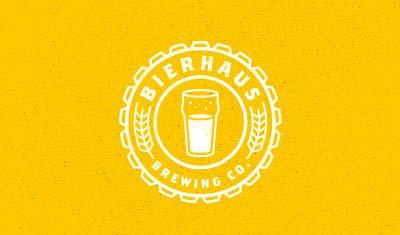 Diseño de logos con estilo flat: Bierhaus Brewing