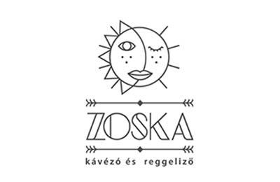 Diseño de logos con estilo flat: Zoska