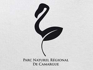 Diseño de logos con síntesis de aves: Parc Naturel Régional de Camargue