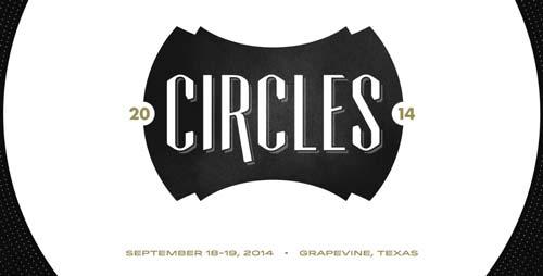Ejemplos de pagina web con uso de patrones de diseño: Circles Conference
