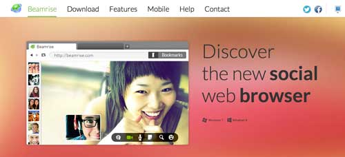 Navegadores web opcionales a Explorer: Beamrise