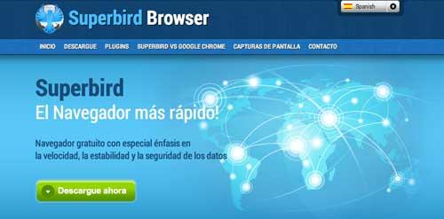 Navegadores web opcionales a Explorer: Superbird