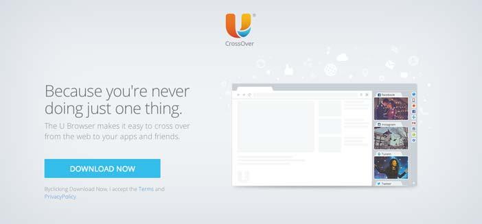 Navegadores web opcionales a Explorer: U Browser
