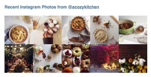 Plugin JQuery para Instagram: Instagram Lite