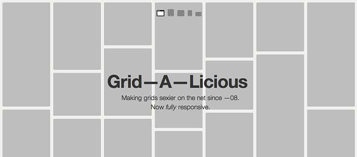 Plugin JQuery para sistemas de cuadrículas: Grid-A-Licious