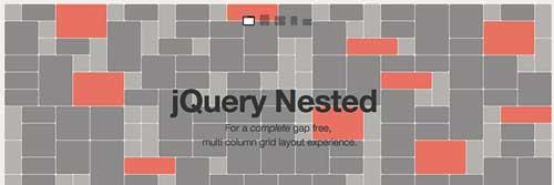 Plugin JQuery para sistemas de cuadrículas: JQuery Nested